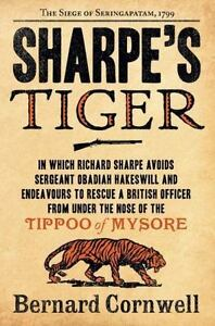SHARPE-039-S-TIGER-by-Bernard-Cornwell-FREE-SHIPPING-paperback-book-historical-army