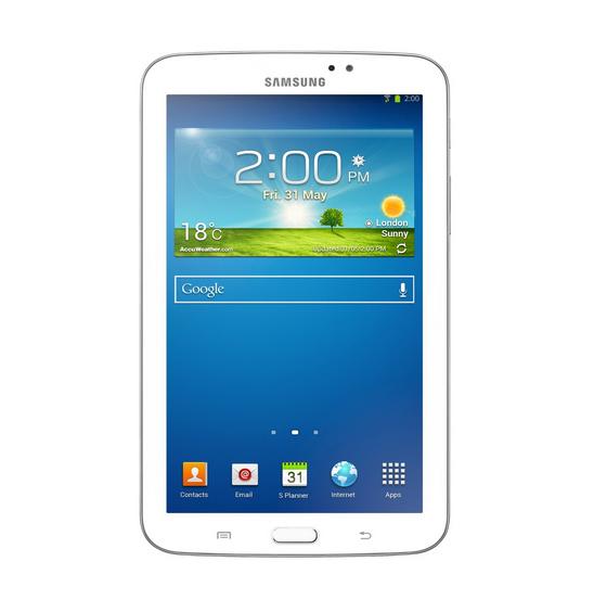 Samsung Galaxy Tab 3 SM-T211 8GB, Wi-Fi + 3G (Unlocked), 7in - White