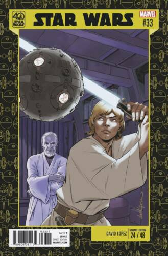 Star Wars #33 40th Anniversary Variant Marvel Comics 1st Print