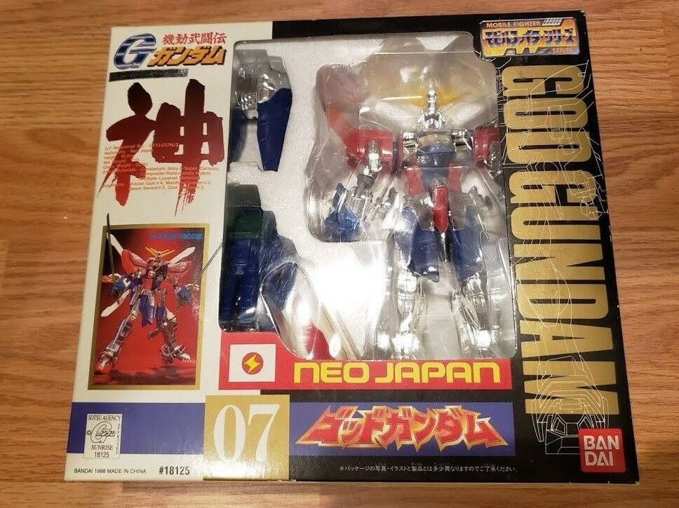 Bandai DX Hyper móvil trajes G Gundam Hyper Mode Neo Japón  07 Vintage