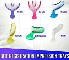 Dental Impression Bite Registration Triple Trays Mold Choose Size Amp Quantity