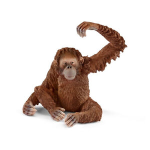 Schleich-14775-Orangutan-Female-Toy-Animal-Figurine-2017-NIP