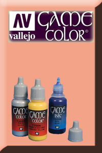 Industrieux Game Color Rosy Flesh 72100 Acrylic Paint Vallejo Mode Attrayante