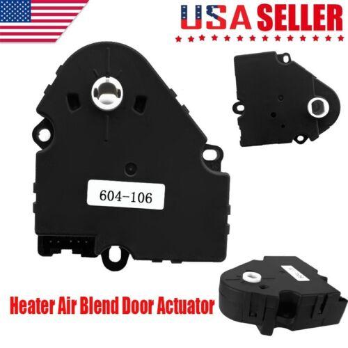 604-106 HVAC Heater Air Blend Door Actuator for GMC Chevy Silverado 1994-02 New