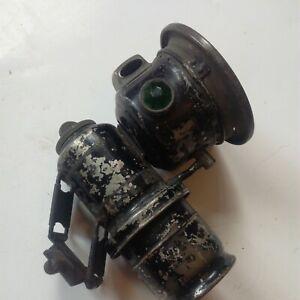 Lucas Calcia Cadet carbide cycle lamp brass original condition black No133