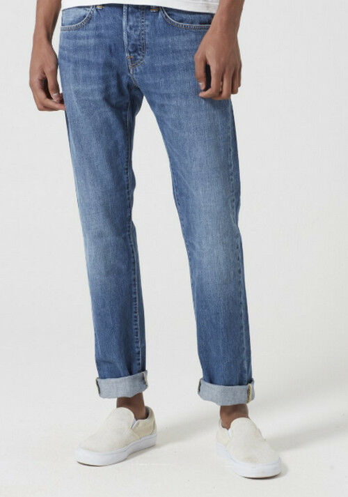 JEANS EDWIN HOMME ED55 REGULAR TAPERED TAPERED TAPERED (kingston-clean wash) W36 L34 VAL 395ed4