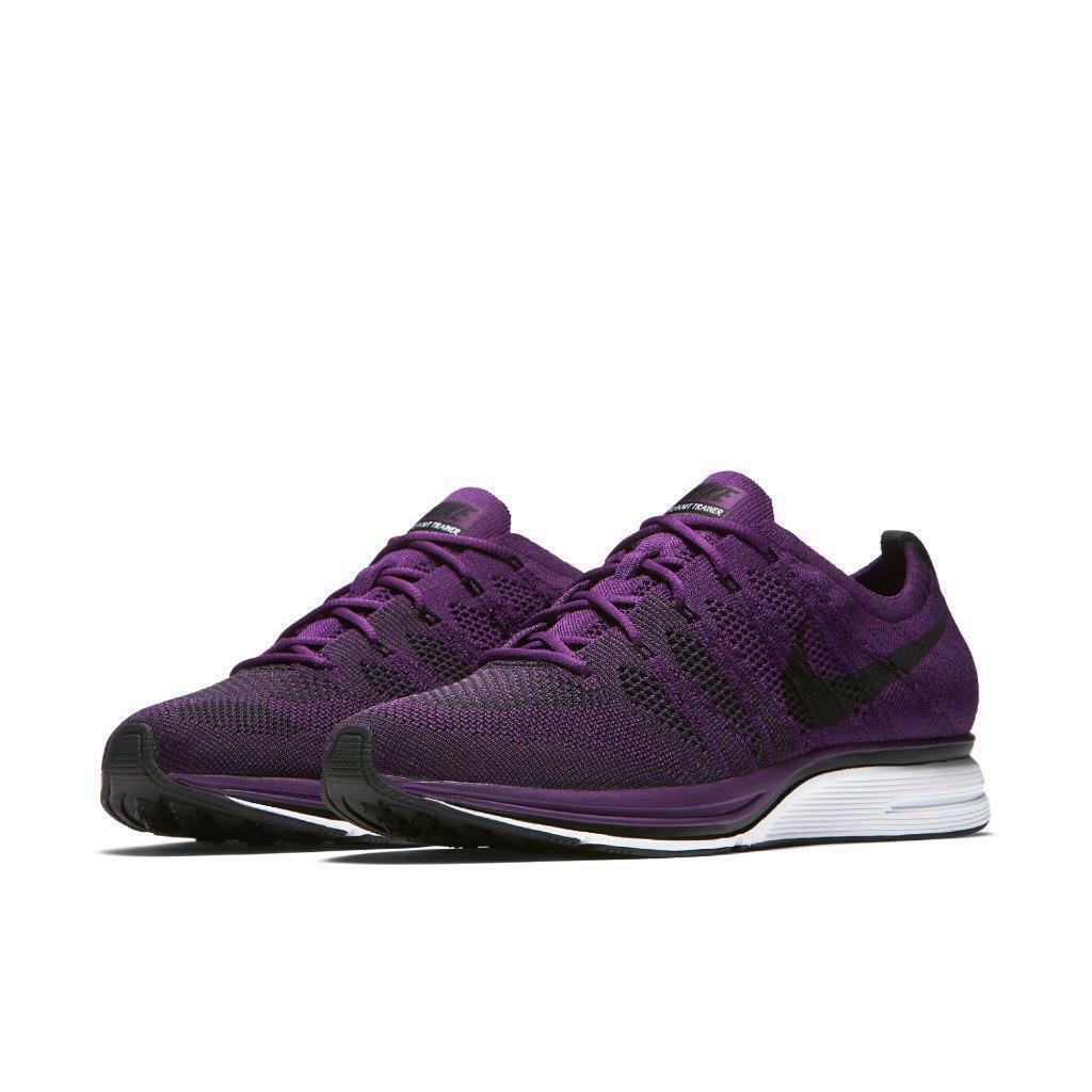 Nike Flyknit Trainer Hommes Running Chaussures 13 Night Violet  Noir AH8396 500