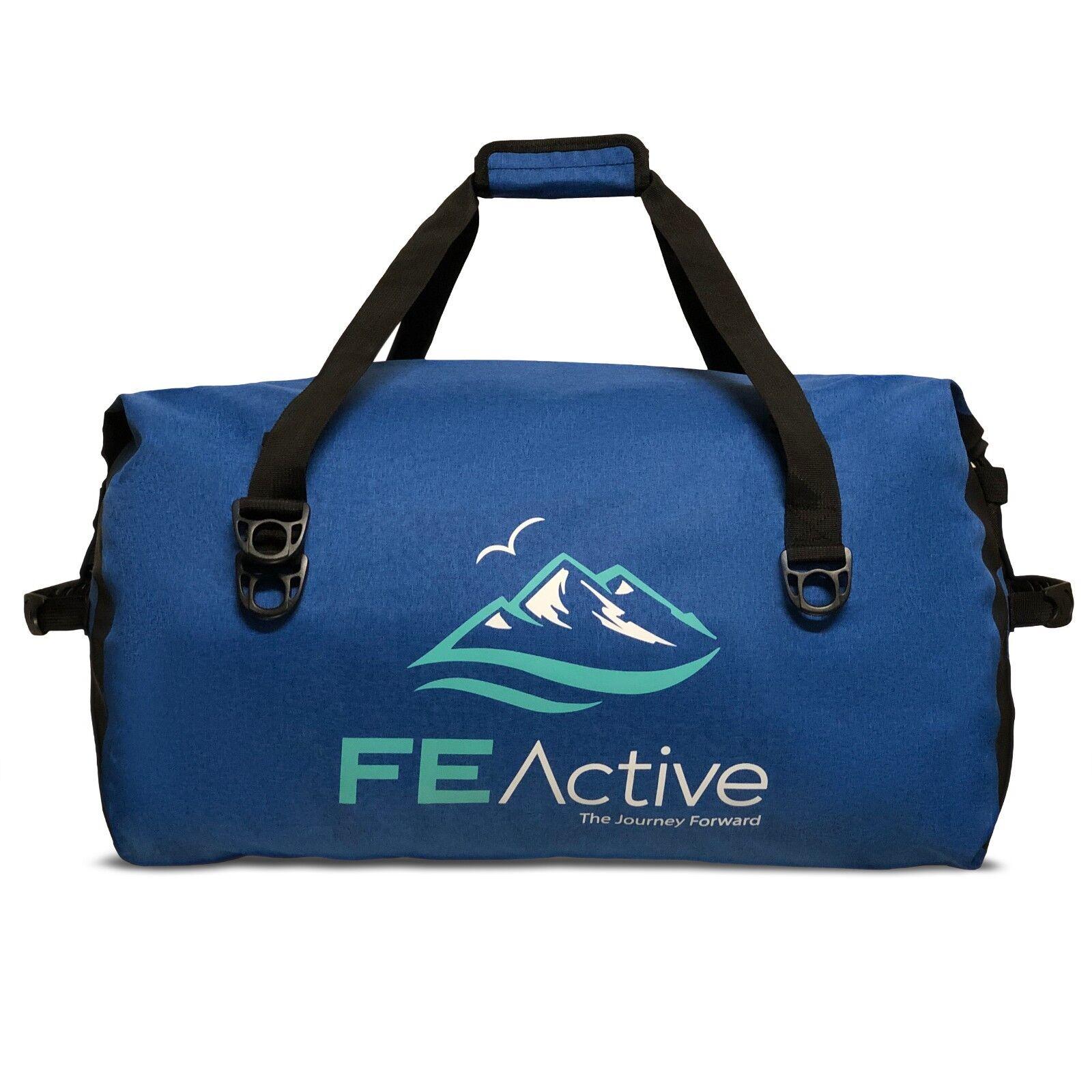FE Active 60 LITRI Borsone Dry Bag Grande Sacca Impermeabile per viaggio e campeggio
