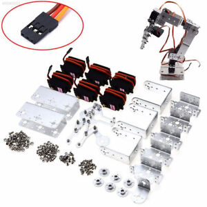 7739-Kit-DIY-Programmable-Robotic-Arm-4DOF-USB-Acrylic-Summary-Mechanical-Arm