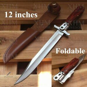 XHM-Tactical-Folding-Dagger-Knife-Bayonet-Combat-Fighting-Knives-Outdoor-EDC