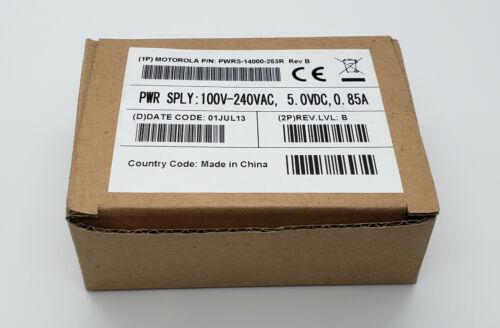 Motorola PWRS-14000-253R AC Adapter Power Supply 5V 850mA Output Genuine Zebra