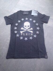 Neck Taille Xxl shirt Ss Plein mix T Philipp Round Neuf P0n6I