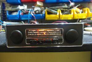 Oldtimer-GRUNDIG-EMDEN-autoradio-VOLKSWAGEN-werksradio