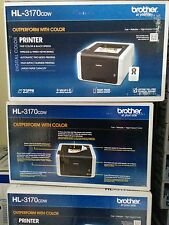 New Brother HL-3170CDW Wireless Color Laser Printer Duplex
