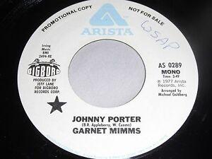 Garnet-Mimms-Johnny-Porter-DJ-COPY-45-Arista-AS-0289