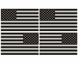 American Subdued Flags Tactical Military