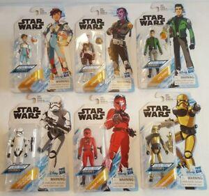 Nouvelles figurines de résistance Star Wars, lot 6, animation Kaz Torra Synara Pyre Vonreg