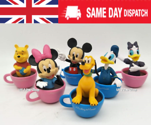 6PCS MICKEY MOUSE CLUBHOUSE Action Figure Set Minnie Jouet Cake Topper-UK