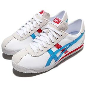 sale retailer 51710 a1f05 Details about Asics Onitsuka Tiger Corsair White Island Blue Leather Men  Vintage D7N2L-0141