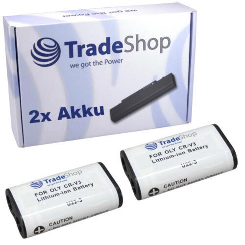 2x batería Olympus c-3020z c-3030 c-3030z c-3040 c-3040z C