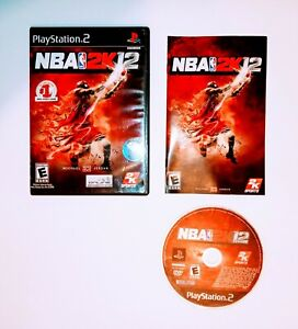 NBA 2K12 for Sony Playstation 2 PS2 CIB Video Game