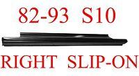 82 93 S10 Right Slip-on Rocker Panel, Chevy, Gmc, S15, Blazer, Jimmy 905-02r