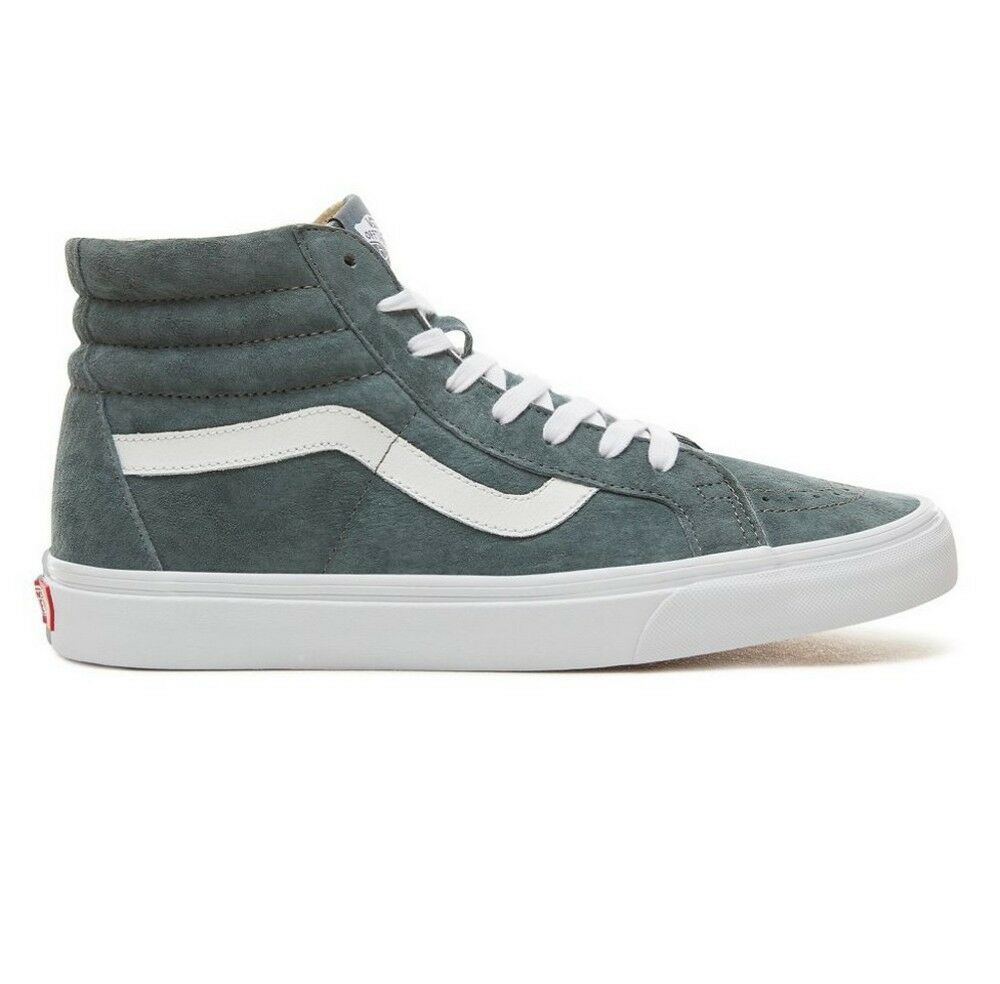 Vans Suede SK8 Hi Reissue shoes (Stormy Weather True White)