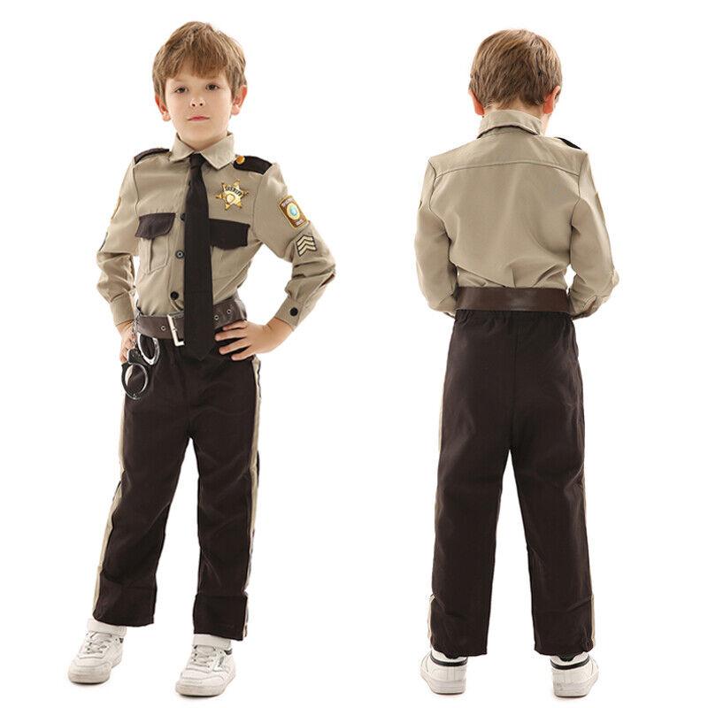 Green Vet Mascherina Bambini Costume Animale uniforme DOTTORE Bambino Costume Outfit