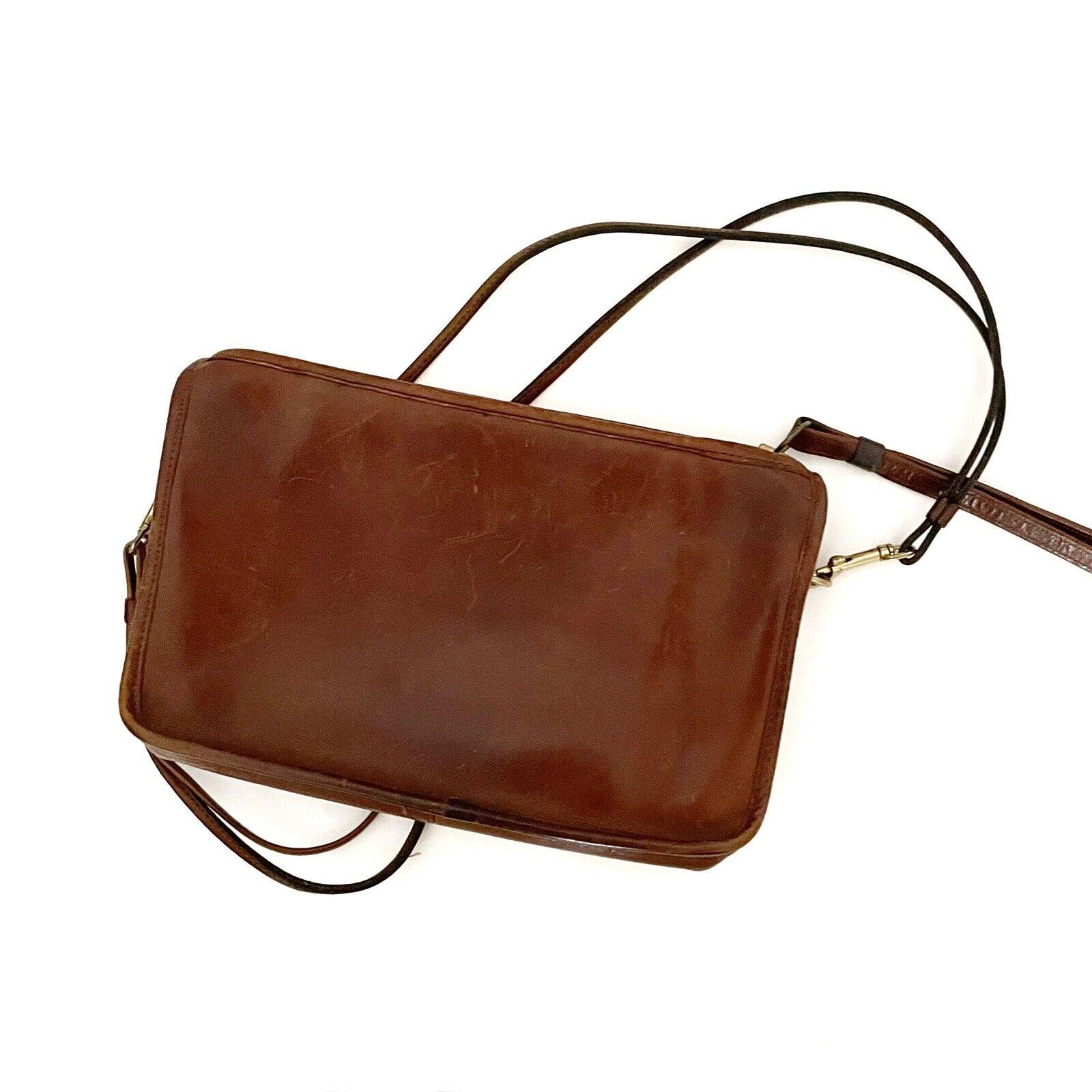 COACH Vintage Bonnie Cashin Brown Leather Shoulde… - image 9