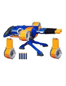 New-Nerf-Gun-N-Strike-Elite-RHINO-FIRE-Blaster-4-Drum-Mags-100-Darts-Rapid-Fire