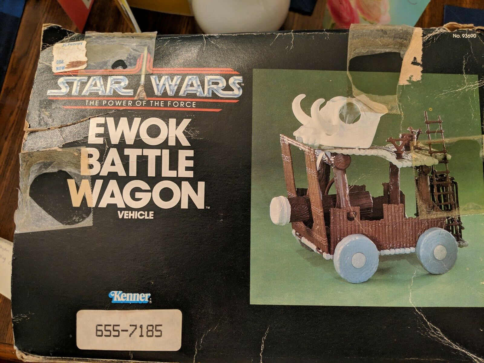 Star Wars Ewok Ewok Ewok Battle Wagon Vehicle d97b7a