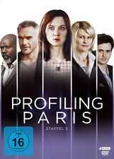 ODILE/BAS,PHILIPPE VUILLEMIN - PROFILING PARIS-STAFFEL 5  4 DVD NEU