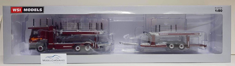 WSI Models 1 50  01-2486 Mo actros mp4 Kässbohrer porte voitures  Galliker  Ch