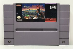 SNES-Aerobiz-Video-Game-Cartridge-Authentic-Cleaned-Tested-New-Save-Battery