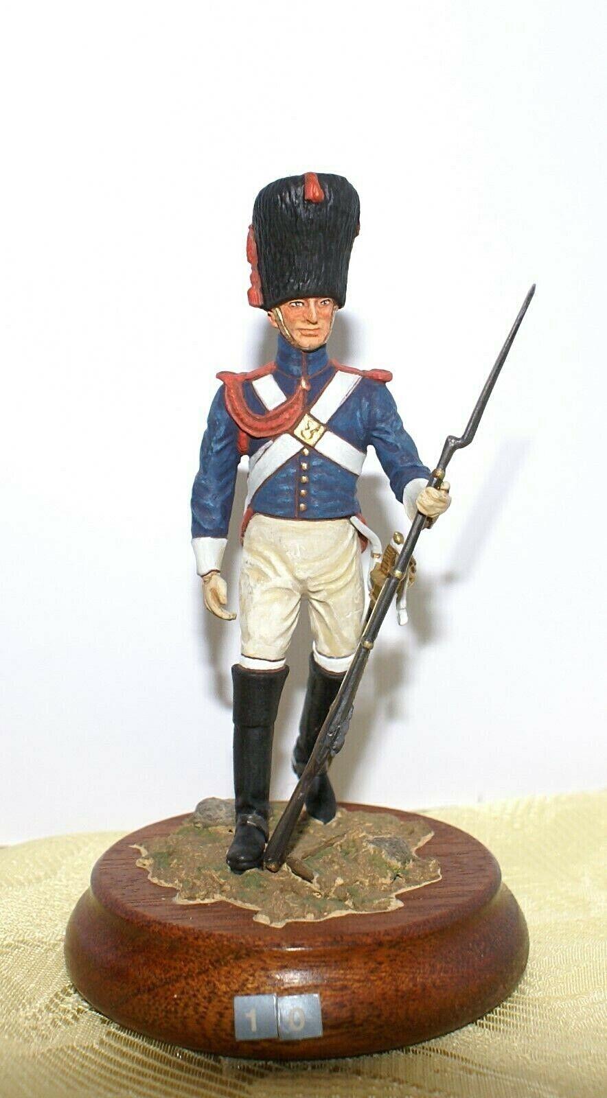 Soldat de plomb 90mm - Carabinier d'infanterie légère 1804 - Lead soldier