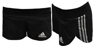 para Gimnasio para Pantalones Adizero separados para cortos mujer correr ejercicios Adidas pfzqFww