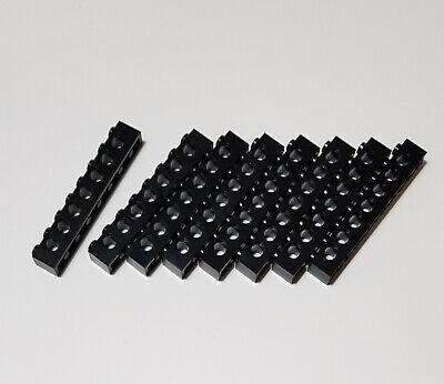1x Lego Technic Rad schwarz Plastik 7 Pin Löchern Ninjago Chima 6019988 11094
