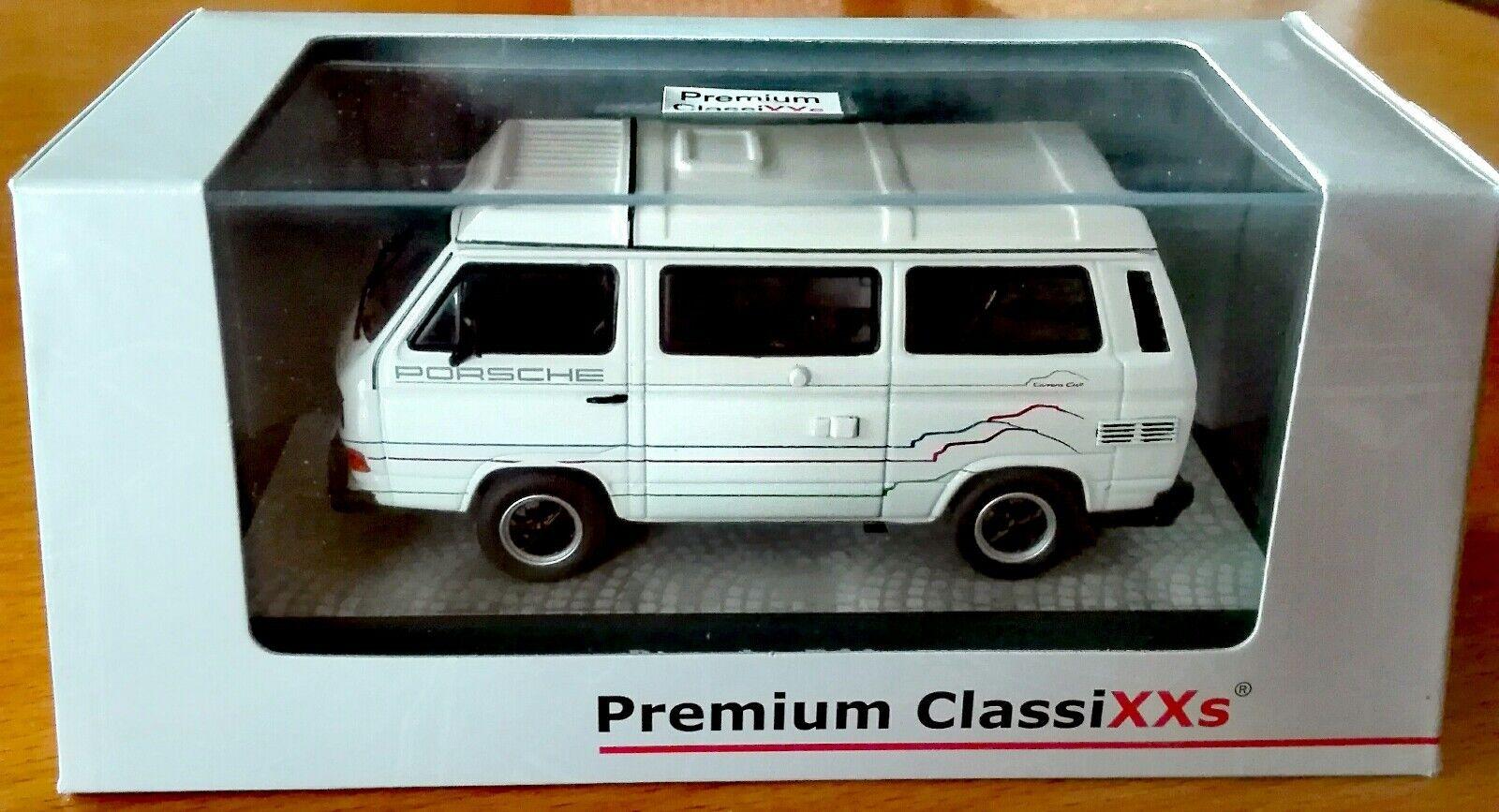PORSCHE b32 VW BUS t3 CAMPEGGIO Carrera Cup Premium ClassiXXs 1/43 OVP RAR