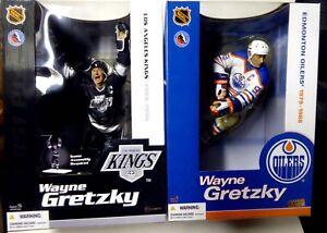 Série 12 de 12 pouces Wayne Gretzky 2 Ensemble de figurines Mcfarlane Sports Nhl Hockey 2004 Nouveau 787926714319