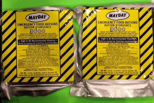 18 Meals 6 Day 3600 Calorie Emergency Survival Food Bar Doomsday Prepper BOB