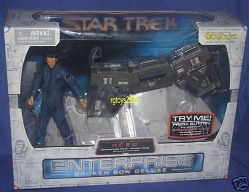 STAR TREK Enteprise NX-01 Bridge Base with 7  Lt Lt Lt Reed New 2002 Factory Sealed 53efec