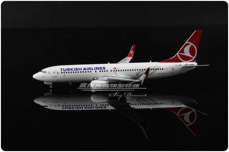 1:400 Phoenix Turkish Airlines Boeing 737-800 Modelo Diecast avión de pasajeros