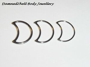 SURGICAL-STEEL-MOON-RING-FOR-DAITH-LEFT-or-RIGHT-SIDE