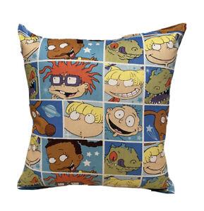 Rugrats Pillow Tic-Tac Rugrats 2021 Pillow Handmade in USA Hard To Find Cartoon