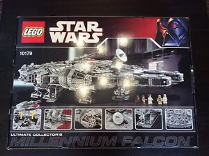 LEGO-Star-Wars-Ultimate-Collector-039-s-Millennium-Falcon-10179-UCS-neuwertig