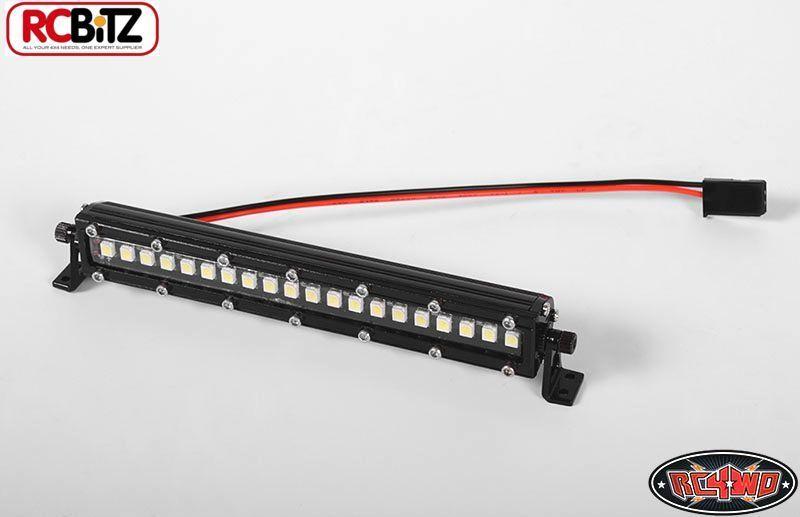 Rc4wd ad alte prestazioni SMD LED Light Bar 100mm 4  7.4v Ricevitore Spina z-e0056
