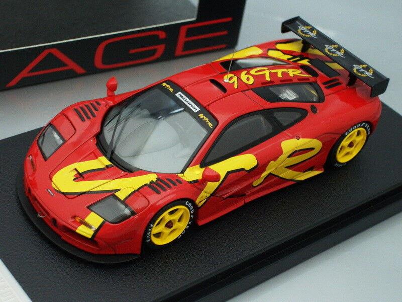 1 43 hpi McLAREN F1 GTR LAUNCH CAR 1996 - KIDBOX 30th ANNIVERSARY