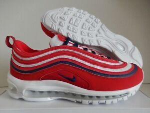 NIKE AIR MAX 97 ID RED-NAVY BLUE-WHITE
