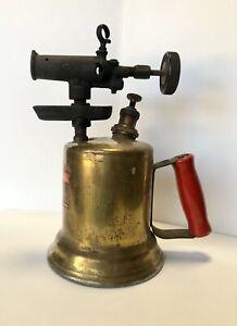 Vintage-Montgomery-Ward-Brass-Gasoline-Blow-Torch