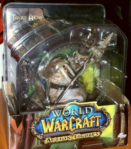 NOT FROM CHINA 100/% ORIGINAL World of Warcraft TAVRU AKUA PREMIUM FIGURE
